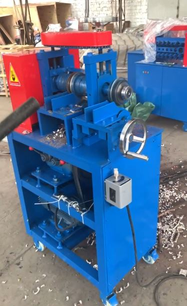 Radiating Pipe Stripping Machine